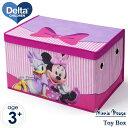 ディズニー ミニーマウス 子供 おもちゃ箱 トイボックス デルタ delta