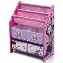 デルタ ディズニー ミニーマウス 本棚 おもちゃ箱 女の子 3-6歳