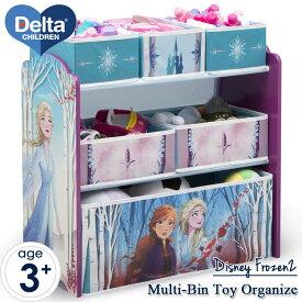 デルタ マルチ おもちゃ箱 ディズニー アナと雪の女王2子供用 家具 収納 キャラクター おもちゃ キッズ収納 Delta