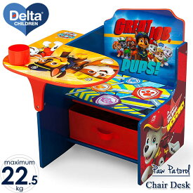 Online ONLY(海外取寄)/ デルタ パウ・パトロール 一体型 チェアーデスク 子供 学習机 椅子付き テーブル パウパト Delta