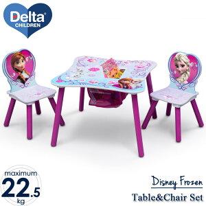 【訳あり】Delta デルタ ディズニー アナと雪の女王 女の子 収納付き テーブル&チェア