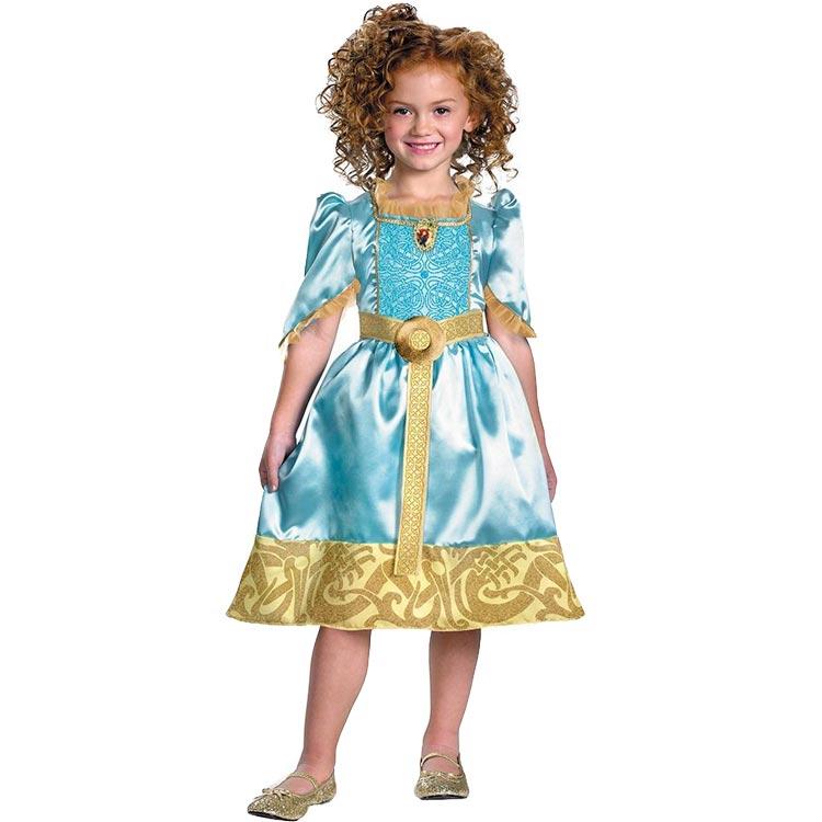 ハロウィン 衣装 子供 ディズニー プリンセス メリダ コスチューム 女の子 110-125cm