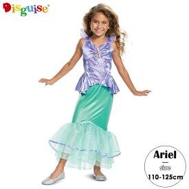 ディズニー プリンセス リトルマーメイド アリエル コスチューム 女の子 95-135cm Disguise 66586
