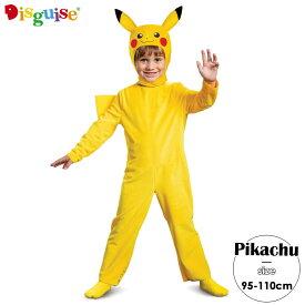 コスチューム ポケットモンスター ピカチュウ 男の子 女の子 95-110cm Disguise 90108