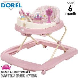 ディズニー プリンセス 歩行器 6ヶ月から ミュージック&ライトウォーカー WA062ALJ