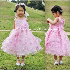 9386e43a9fb14 ... 子供 用 キッズ こども 子ども リングガール コンクール お揃い 色違い 黒クリアランスSALE  子供 ドレス フォーマル 女の子 90-150cm  ピンク ブラック ローレン
