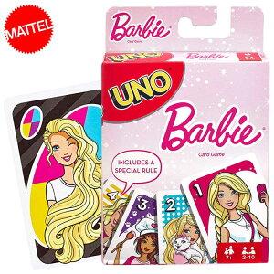 DM便送料無料/ UNO バービー ウノ カードゲーム おもちゃ 新品 キャラクター ライセンス BARBIE
