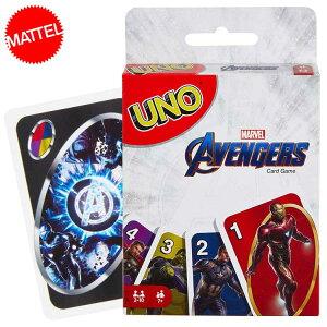 DM便送料無料/ UNO アベンジャーズ ウノ カードゲーム おもちゃ 新品 キャラクター ライセンス