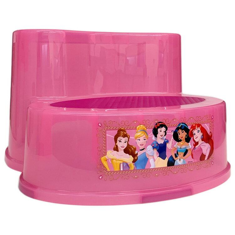 【エントリーでさらにP5倍_5/25 10:00-5/30 23:59】ディズニー プリンセス 2段 ステップスツール 洗面所 トイトレ 踏み台 ginsey Princess