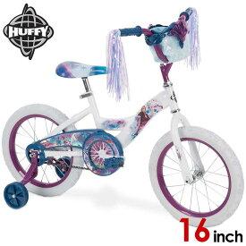 16インチ ディズニー アナと雪の女王2 子供 キッズ ジュニア用 自転車 子ども 補助輪付 Huffy 21390