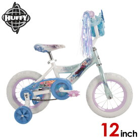 12インチ ディズニー アナと雪の女王 子供 キッズ ジュニア用 自転車 補助輪付 Huffy 22238