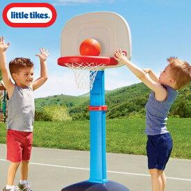 【P2倍・7月4日20時〜+クーポン有】リトルタイクス バスケット ゴール セット 1歳半から ブルー LittleTikes 612329