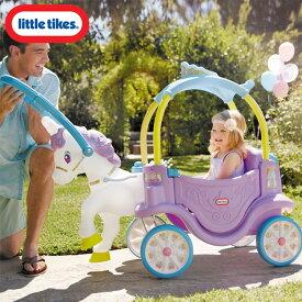 Online ONLY(海外取寄)/ リトルタイクス マジカル ユニコーン キャリッジ 女の子 乗用玩具 Littletikes 645860 /配送区分A