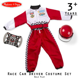 ハロウィン 衣装 子供 レーサー コスチューム 3歳 4歳 5歳 6歳 小物付き メリッサ&ダグ