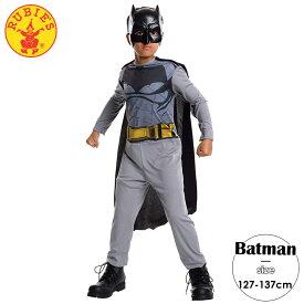 【大決算SALE】バットマン コスチューム 男の子 127-137cm ハロウィンRubies 31678