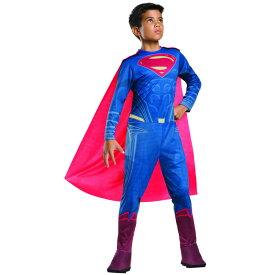 【P3倍・スーパーセール】ルービーズ スーパーマン ハロウィン コスチューム 男の子 105-150cm 衣装 子供 Rubies 620566
