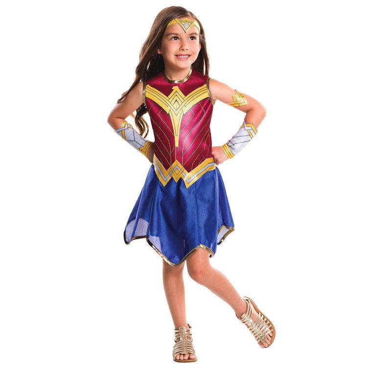 ハロウィン 衣装 子供 ルービーズ ワンダーウーマン コスチューム 女の子 105-150cm 620611