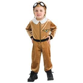 【スーパーセール半額商品】子供 ルービーズ アビエイター パイロット 飛行機 操縦士 ハロウィン コスチューム 男の子 60-80cm 衣装 Rubies 885126