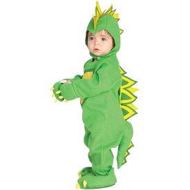 【Fashion THE SALE】ルービーズ 恐竜 ダイナソー 着ぐるみ ハロウィン コスチューム 男の子 60-80cm 衣装 子供 Rubies 885339