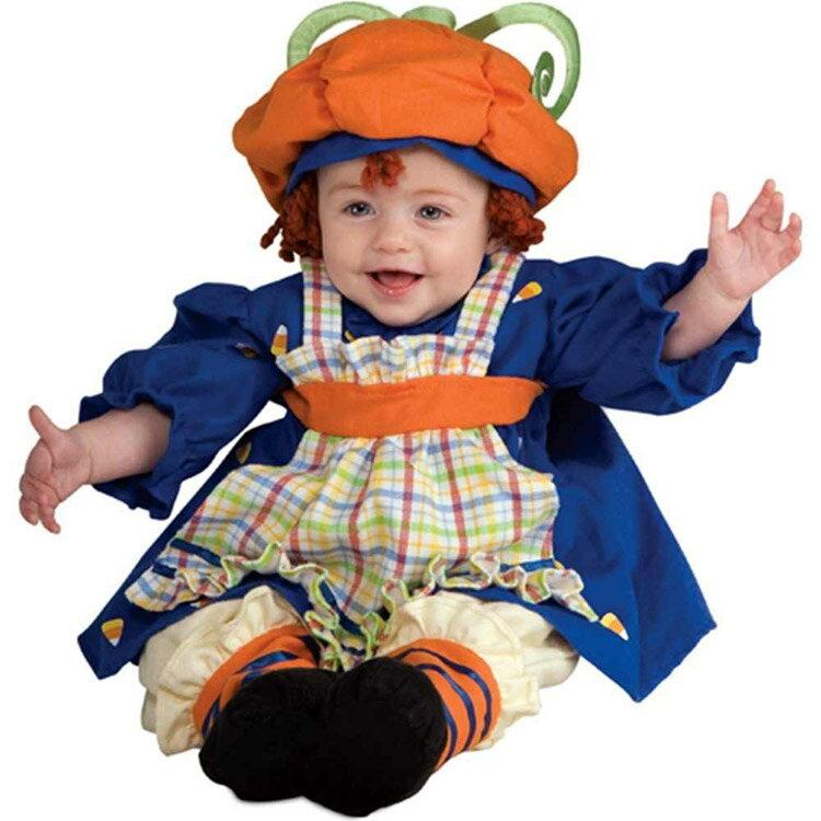 ハロウィン 衣装 子供 ルービーズ かぼちゃ キッズ コスチューム ラガマフィン 女の子 105-120cm 885735