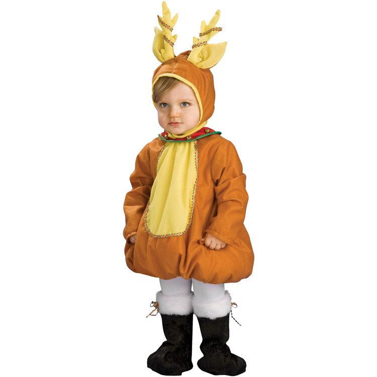 コスチューム ハロウィン 子供 ルービーズ クリスマス トナカイ 90-120cm
