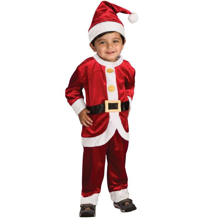 コスチューム ハロウィン 子供 ルービーズ クリスマス サンタクロース 90-120cm