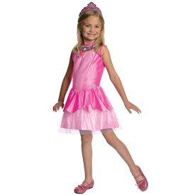 【HWセール】ハロウィン 衣装 子供 ルービーズ Barbie バービー クリスティン ピンク ドレス コスチューム 女の子 90-135cm 886741