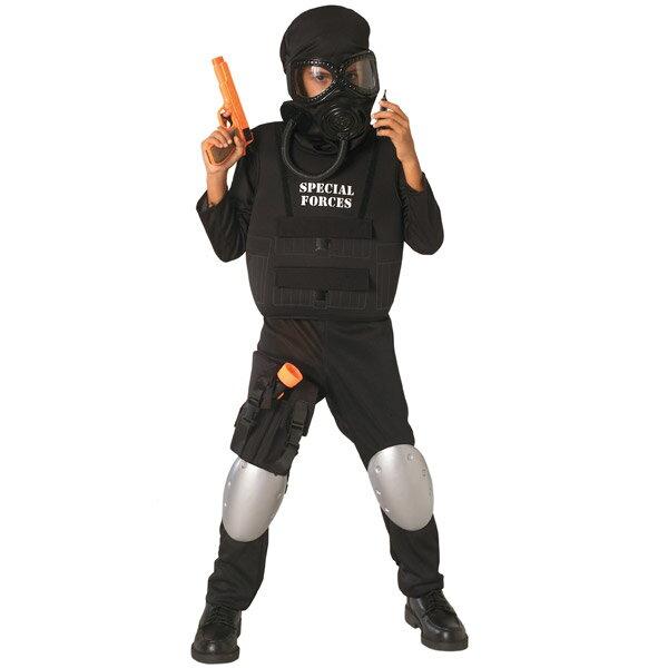 ハロウィン 衣装 子供 ルービーズ 軍隊 ヒーロー コスチューム 男の子 105-150cm 888085