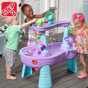 Online ONLY(海外取寄)/ ステップ2 水遊び 遊具 おもちゃ レインシャワー ウォーター テーブル ユニコーン STEP2 487299 /配送区分A