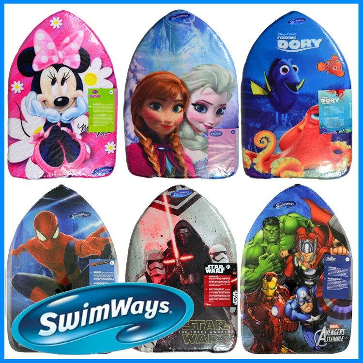 水泳練習用具 SwimWays ディズニー ビート板