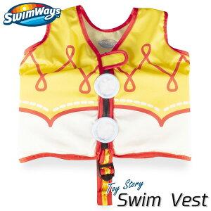 子供用 スイムベスト トイストーリー ジェシー 2歳から フローティングベスト 浮き具 幼児 ライフジャケット SwimWays