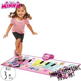 ミュージック ピアノマット ディズニー ミニーマウス 3歳
