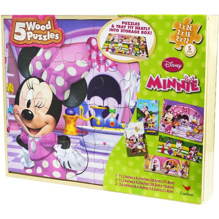 パズル 木製 ディズニー ミニーマウス 2歳から
