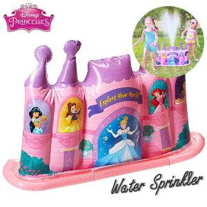 水遊び ディズニー スプリンクラー プール おもちゃ 噴水 放水 夏 キャラクター グッズ