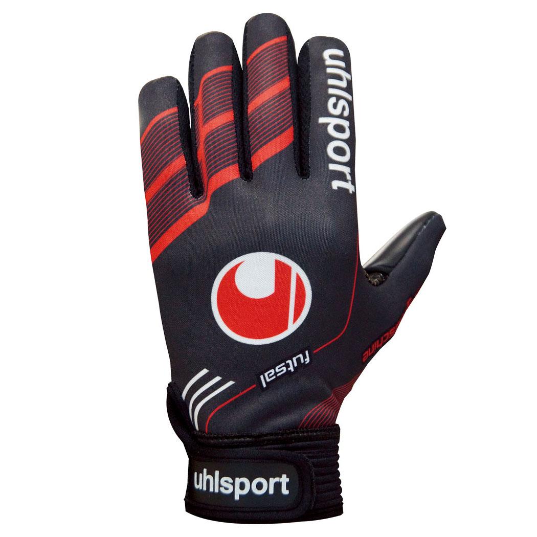 uhlsport ウールシュポルト 1000855 フルフィンガーソフト フットサル専用GKグラブ ゴレイログローブ ジュニア対応