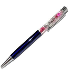 お名前入り オーダーメイド ハーバリウムボールペン color03 完成品 花 手作り ハンドメイド ギフト 名前入れ プレゼント