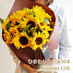 ひまわりの花束(30本)