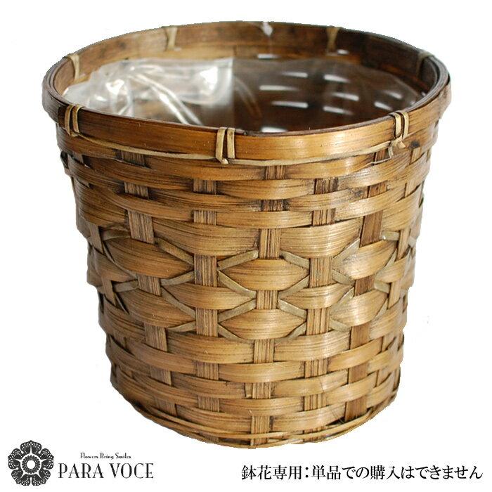 鉢花専用鉢カバー ※鉢花と一緒にご購入下さい。単品での購入はできません。
