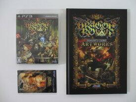 【中古】ドラゴンズクラウン(PS3・未開封ICカード用デザインジャケット)&アートワークス