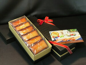 パリ・ドートンヌ直営店『こだわりのフィナンシェ6個入り』( フィナンシェ おすすめ ギフト 発酵バター お取り寄せ お中元 お歳暮 母の日 父の日 内祝い 引菓子 贈り物 洋菓子 スイーツ 高