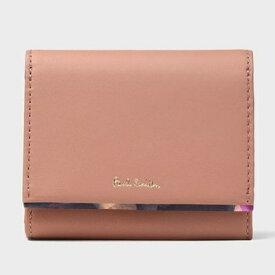 ポールスミス 財布 折財布 二つ折り フォトグラムアイリストリム ピンク Paul Smith