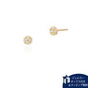 ヨンドシー ピアス レディース ダイヤモンド K18イエローゴールド 4℃