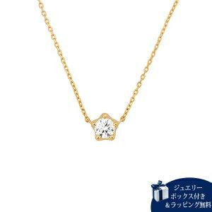 ヨンドシー ネックレス レディース ダイヤモンド K18イエローゴールド 4℃