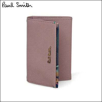ポールスミス 財布 Paul Smith バッグ ポール・スミス 新品 ポール スミス 正規品 フォトグラムアイリストリム 名刺入れ ピンク