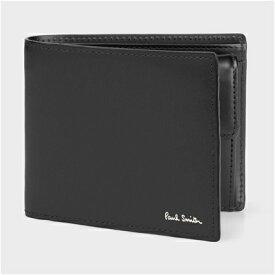 ポールスミス シティエンボス 2つ折り財布 ブラック