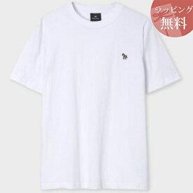 ポールスミス Tシャツ Sports Stripe Zebra ワンポイント ホワイト M Paul Smith