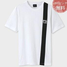 ポールスミス Tシャツ PSロゴ&ラインプリント ホワイト M Paul Smith