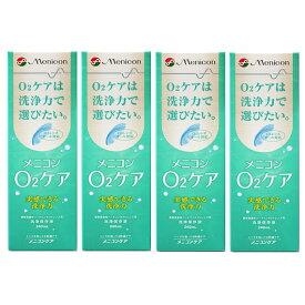 【送料無料】メニコン オーツーケア240ml(メニコンO2ケア)4本セット ハード コンタクト 洗浄液