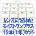 【送料無料!】レインボーコンタクト モイストワンプラス120ml 12本セット(約1年分)