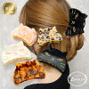 ■ Advance hair accessories size cat cat cat cat tortoiseshell style マーブルアセチ size grain gold Luxury's